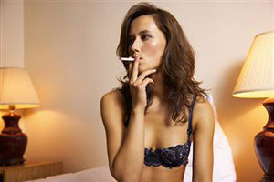 Сигарета после секса приводит к фригидности