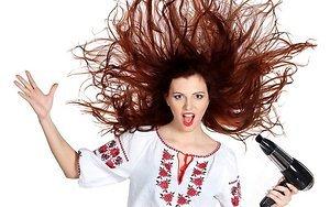 Как не повредить волосы при укладке феном