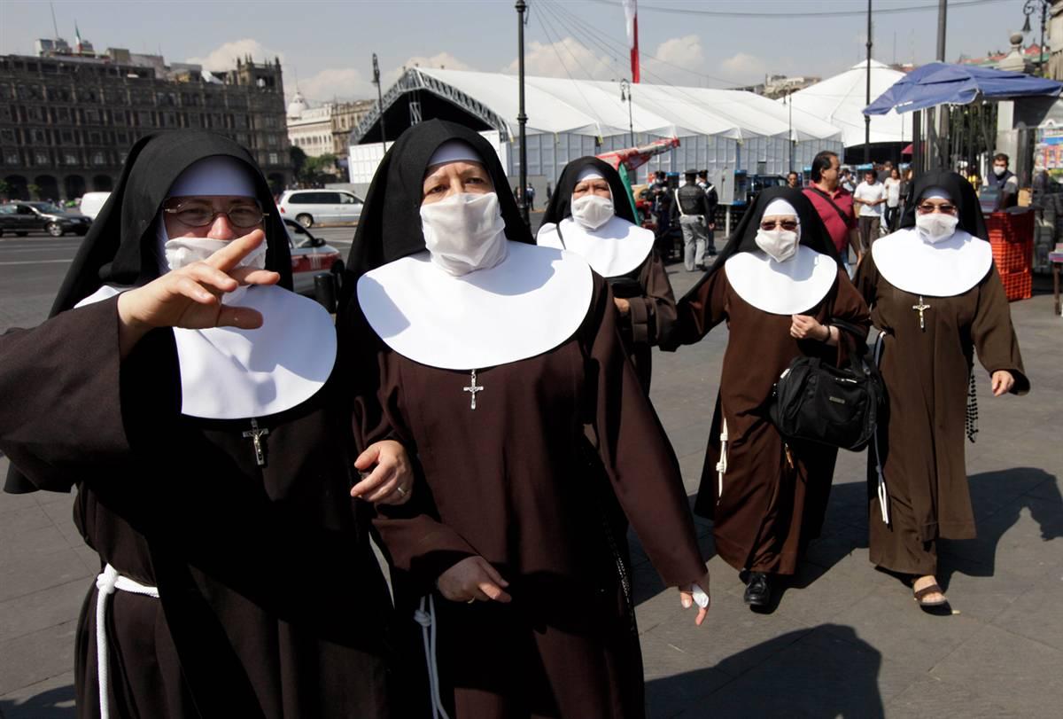 Монахиням прописали противозачаточные таблетки