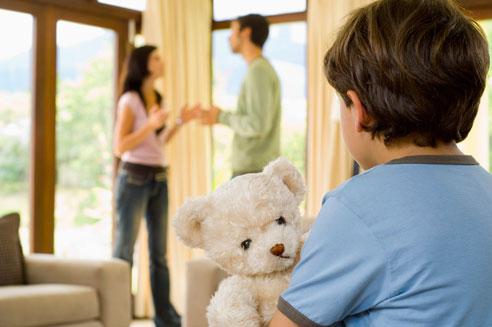 Семь стадий при разводе