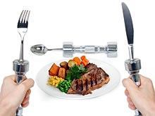Вилки и ножи обещают вытеснить привычные гантели