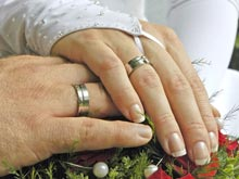Лишь половина пар проживет в браке 20 лет, делают прогноз американские специалисты