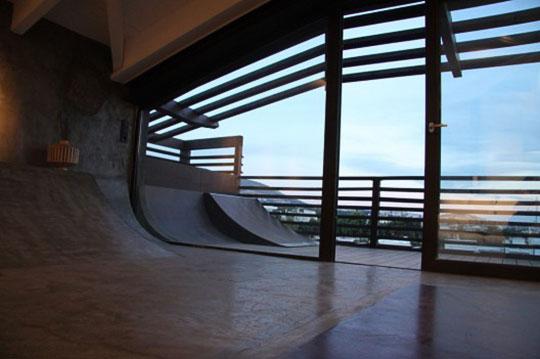 Дом для скейтбордиста