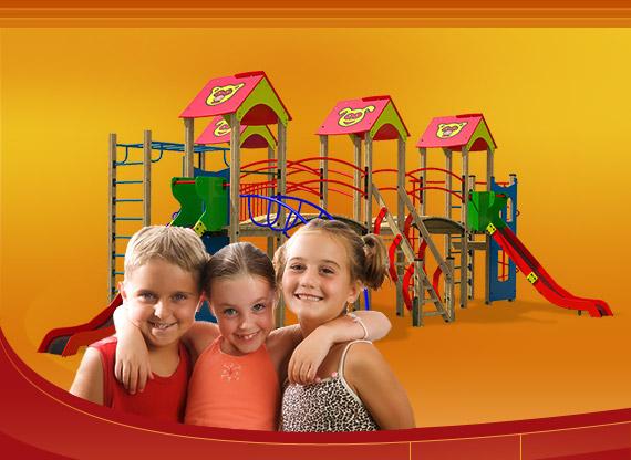 Польза детской игровой площадки на даче