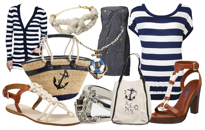 Одежда морского стиля