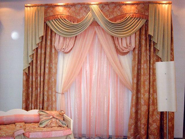 Шторы для спальни и кухни от дизайнеров