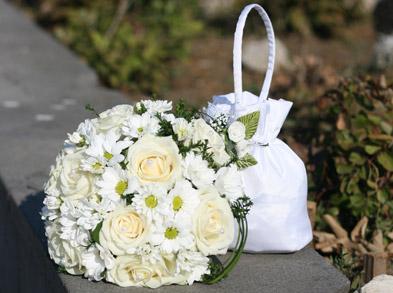 Букет невесты: выбираем цвет