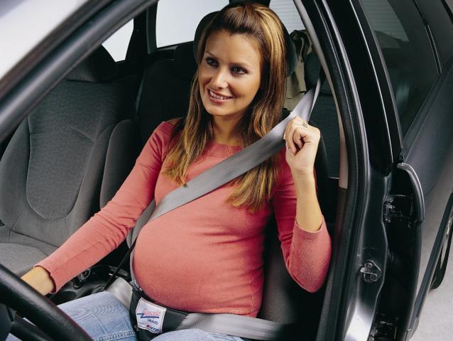 Советы беременным за рулем автомобиля