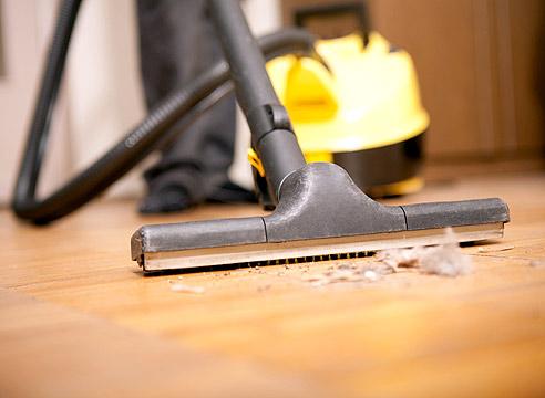 Уборка пыли спасет от аллергии