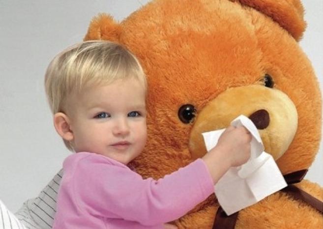 Насморк у детей не считается болезнью…