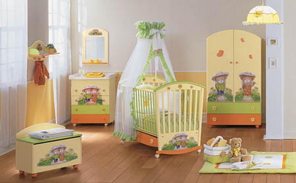 Как выбрать мебель для детской, не навредив здоровью малыша