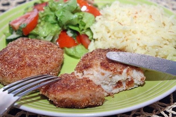 Рыбные котлеты отличное блюдо для похудения. Рецепт приготовления