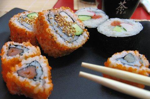 Суши – японский секрет здоровой и долгой жизни