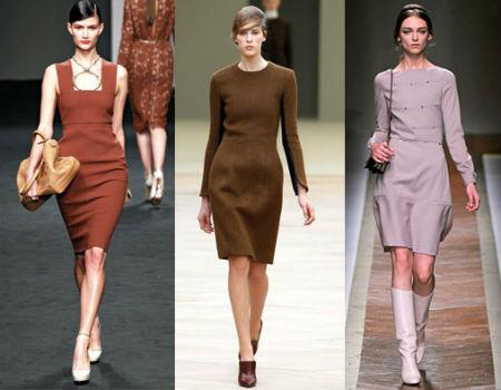 Платье-футляр никогда не выйдет из моды