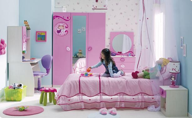 Ремонт детской для девочки