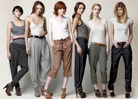 Женские брюки, модные в сезоне 2013