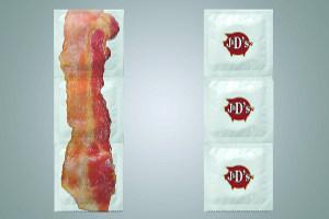 К первому апреля созданы презервативы со вкусом бекона