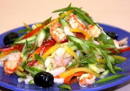 Овощные салаты для быстрого похудения