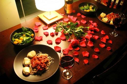 Фантазии на тему романтического ужина