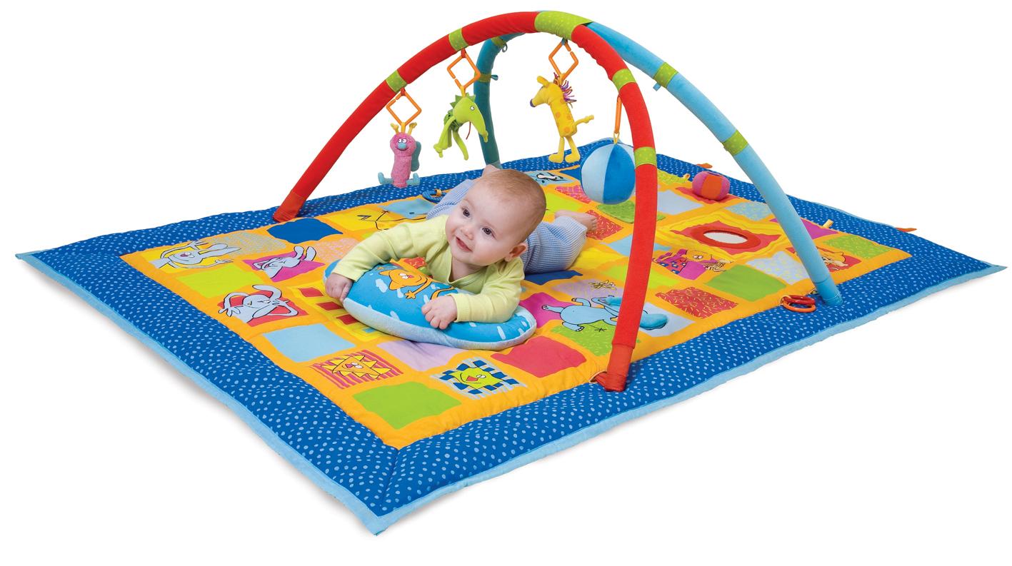 Мамин помощник – выбираем детский развивающий коврик