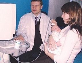 УЗИ головного мозга младенцев