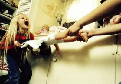 Проявление агрессии у детей