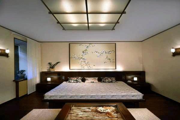 Японский стиль: выбираем кровать