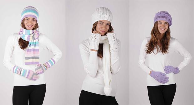 Согреваемся зимой вместе с шарфом и перчатками