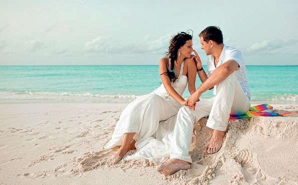 Как празднуется свадьба на Мальдивах