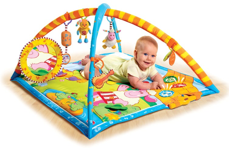 Правильный выбор детского развивающего коврика
