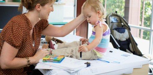 Занятая мама — занятой ребенок