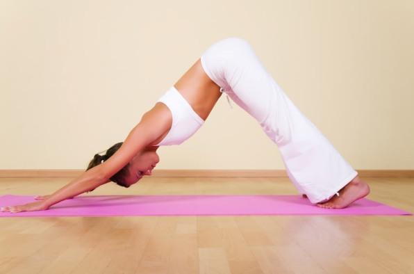 Йога помогает худеть