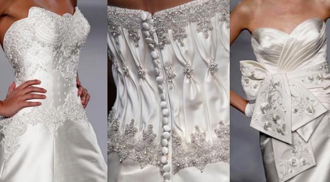 Выбор ткани для свадебного платья