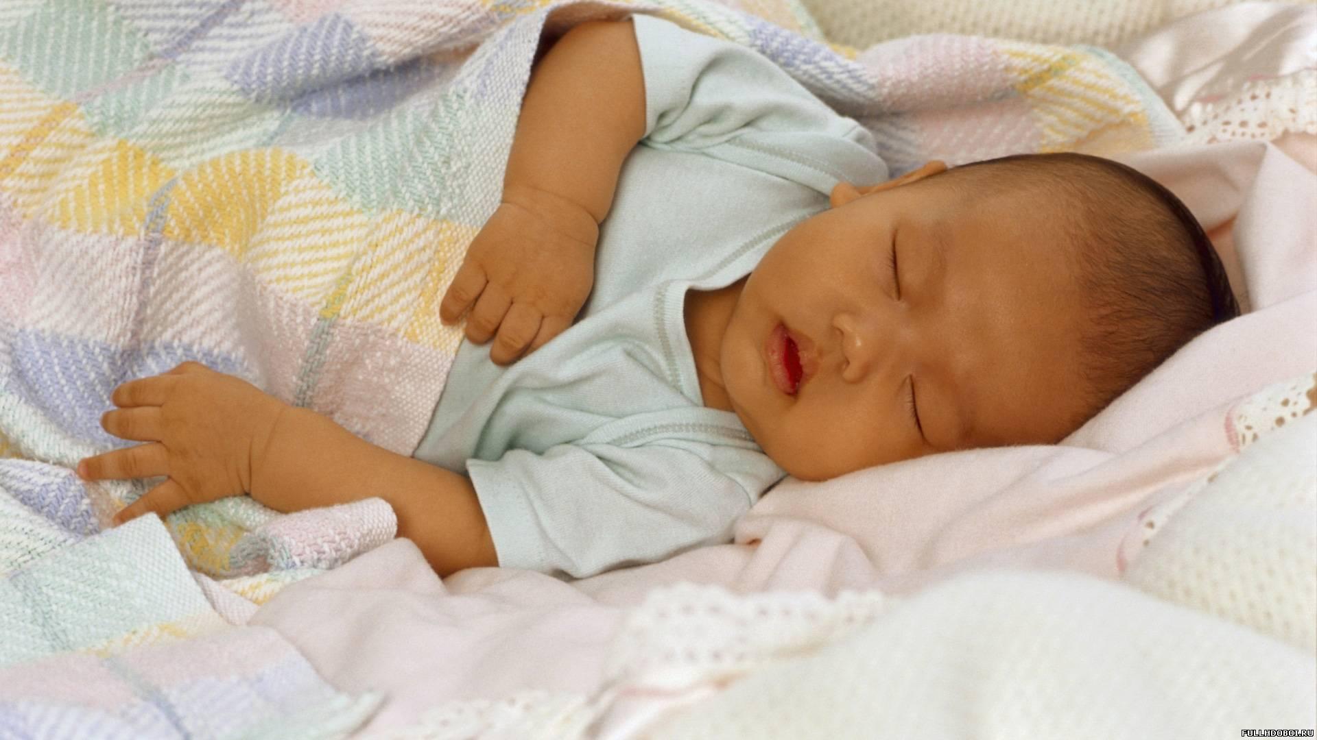 Крепкий детский сон