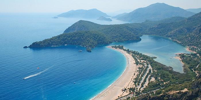 Основные пляжи Сиде. Турция