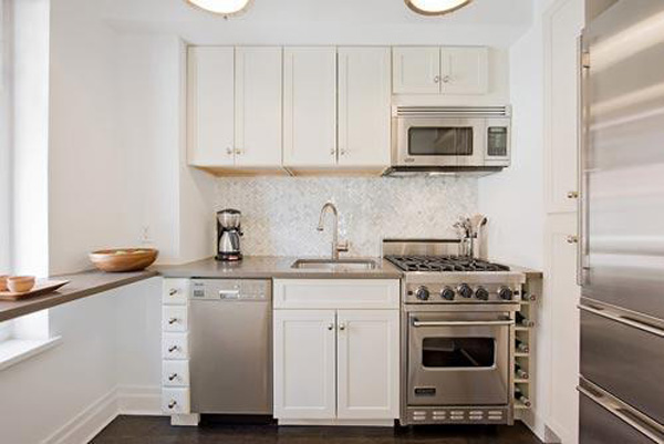 Как сделать ремонт маленькой кухни?