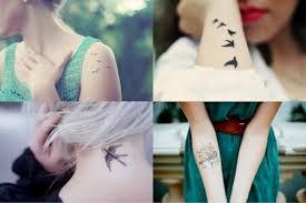 Татуировки для девушек. Гармоничная форма, оптимальный размер, выразительный цвет