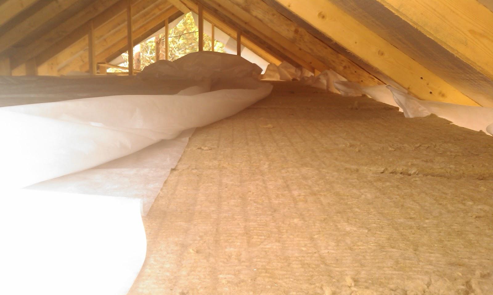 Как утеплить потолок изнутри?