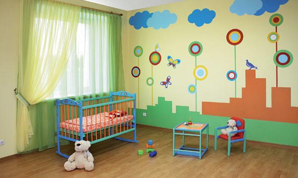 Варианты напольного покрытия для детской