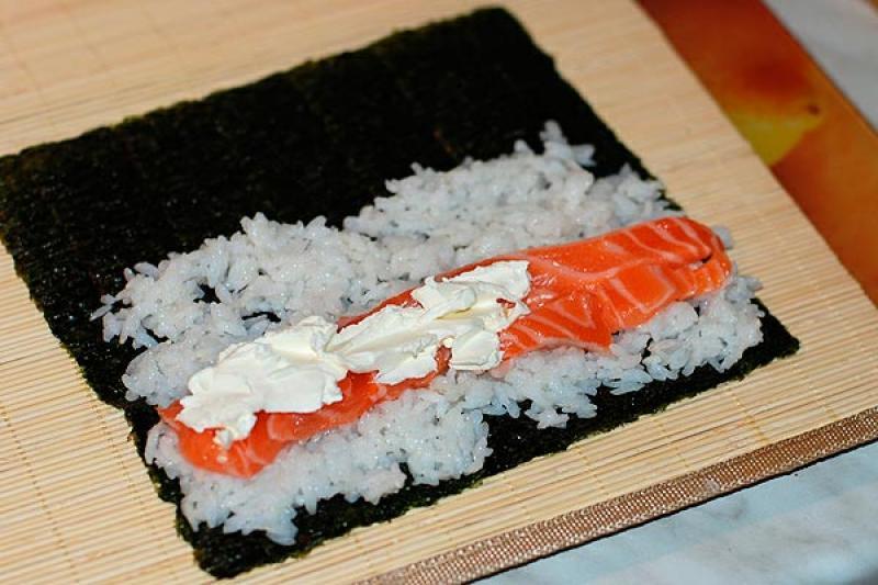 Суши в домашних условиях пошагово фото