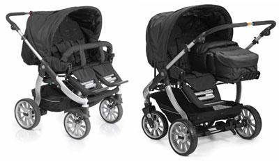 Выбор детских двойных колясок