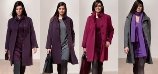 Пальто для полной женщины