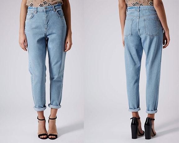 Mom-джинсы – новый тренд 2015