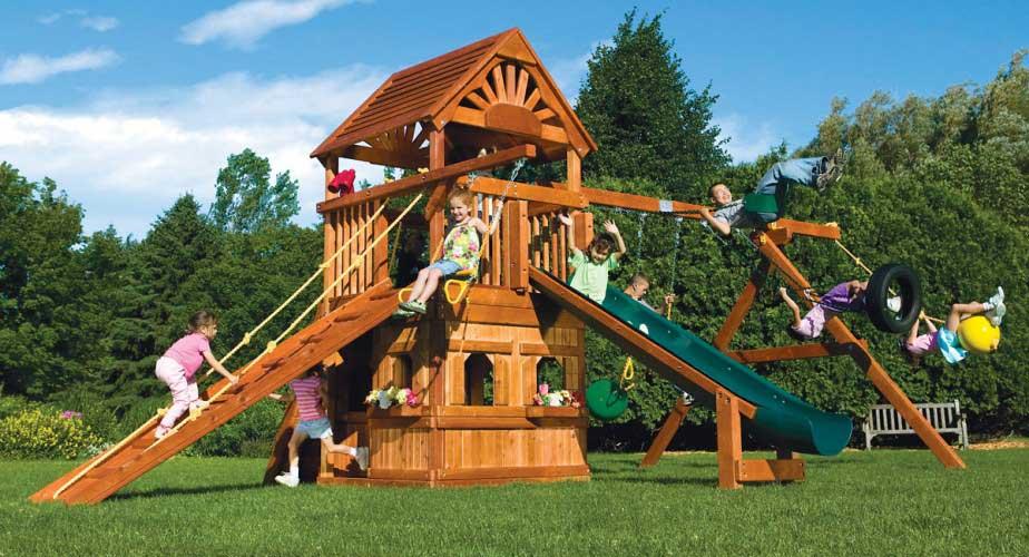 Детская площадка — маленький мир вашего ребенка
