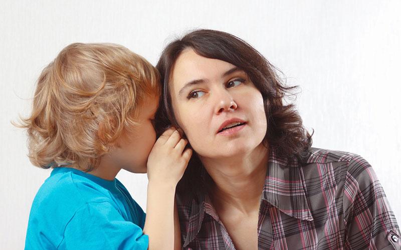 Как отучить ребенка ябедничать?