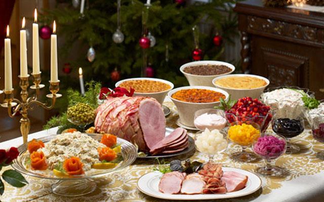 Традиционные блюда на Рождество в некоторых странах