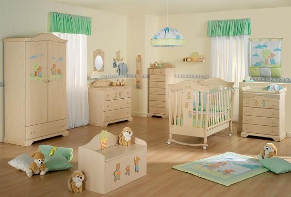 Подготовка комнаты для появления ребенка