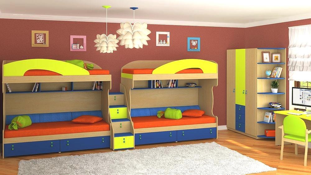 Мебель для детской комнаты — что выбрать?