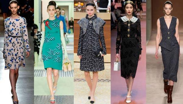 Платья и юбки в моде 2016 года