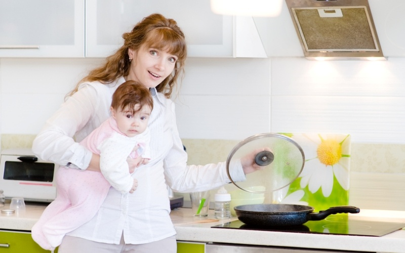 Как маме планировать свой день в декрете